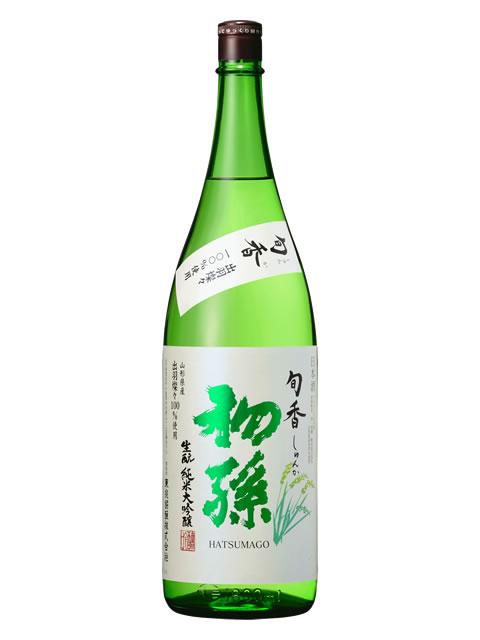 初孫 旬香 純米大吟醸1800