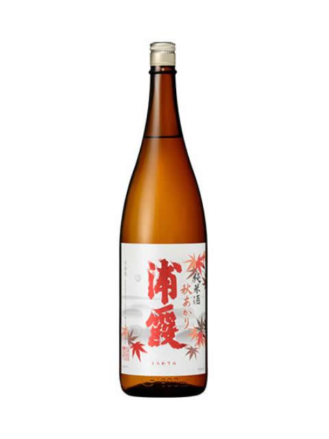 浦霞 純米酒秋あがり1800