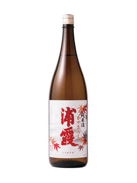 浦霞 純米酒ひやおろし1800