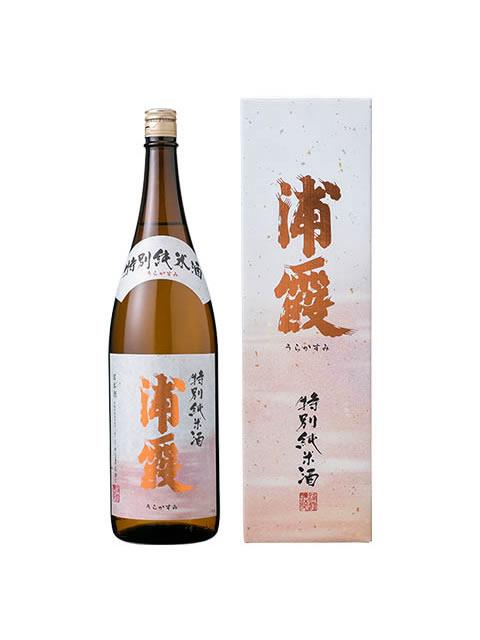 浦霞 特別純米酒1800