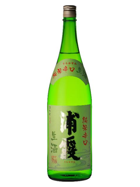浦霞 純米辛口 生酒1800
