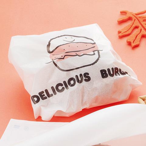 バーガー袋 デリシャス