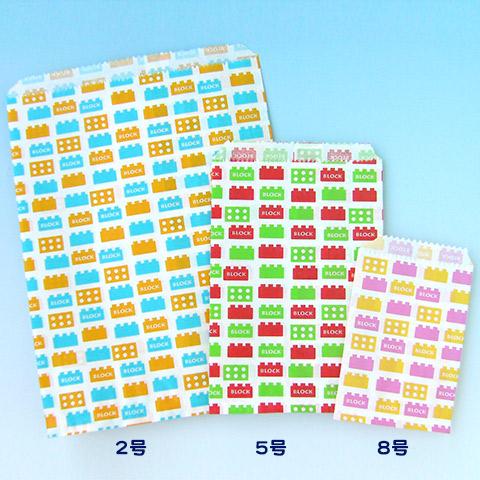 紙平袋_ブロック集合