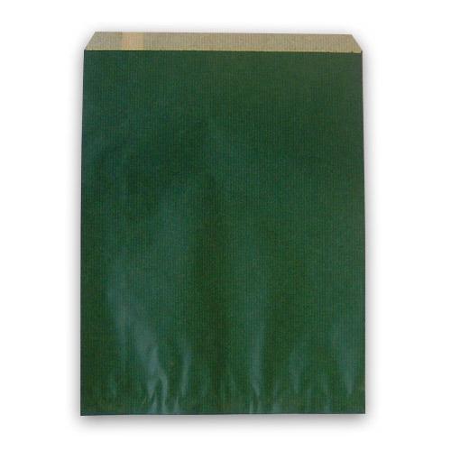 紙平袋 フラット エメラルド