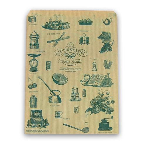 紙平袋 シルバースミス