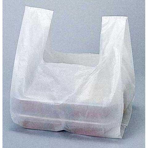 レジ袋乳白弁当イメージ