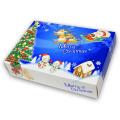 ティッシュペーパー ポストカード クリスマスティッシュ(100個入)No.7068
