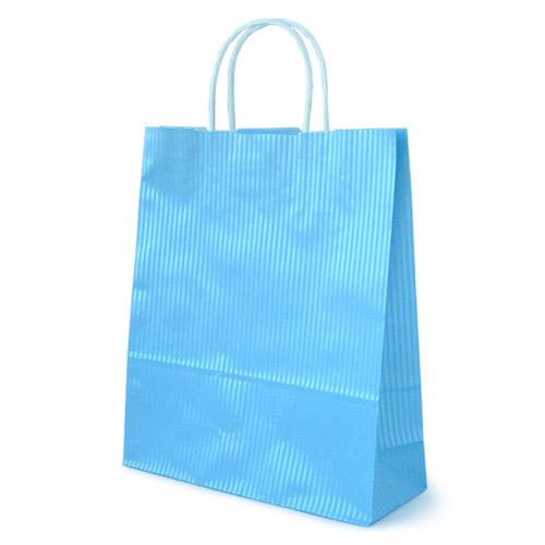 手提袋 クリスタルブルー