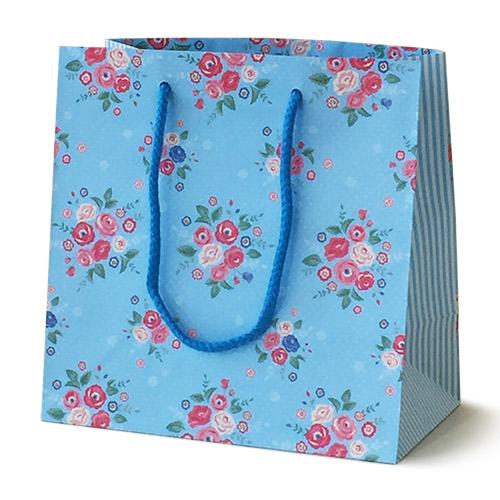 手提げ紙袋 フレンチフラワー