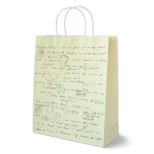 手提紙袋 レター
