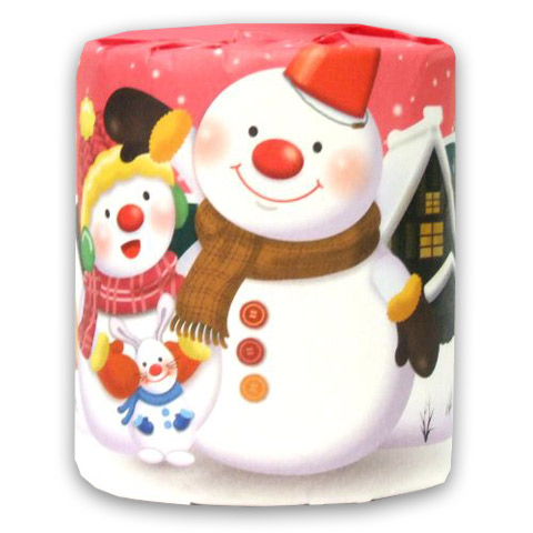 トイレットペーパー 雪だるまNo.2362
