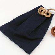 【小粋 藍染】大判(ビックサイズ)巾着