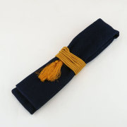【小粋 藍染刺子】笛袋