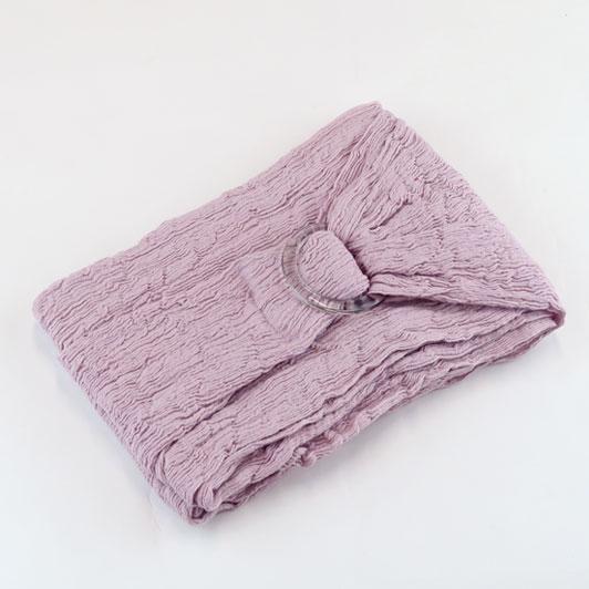 【らくらく巻帯 紫香草】綿楊柳巻帯