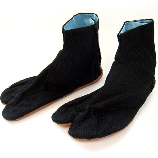 【小粋 黒刺子】5枚コハゼ地下足袋23cm~27cm