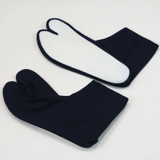 【小粋 藍染】岡足袋22cm〜27cm