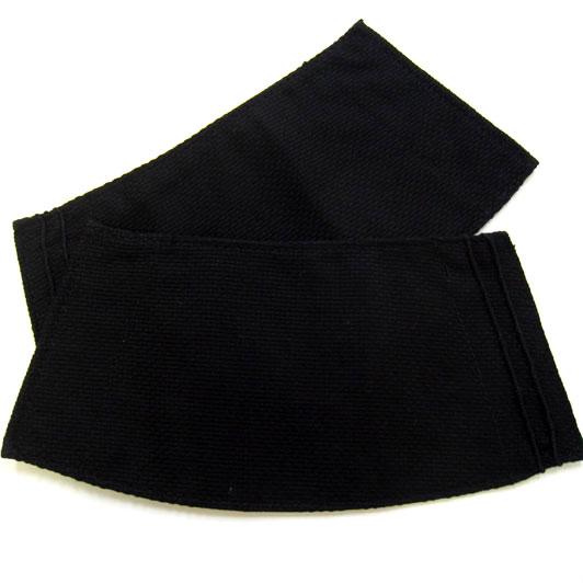 【小粋 黒刺子】5枚コハゼ手甲