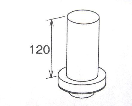 丸排水管カバー