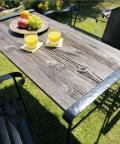 アイアンバーンウッド テーブル