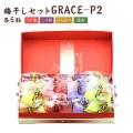 GRACE-P2(うす塩、しそ漬、はちみつ、こんぶ) 各5粒