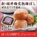 新・福井梅完熟梅ぼし  甘仕立てうす塩味お試しパック120g
