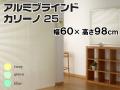 アルミブラインド カリーノ25 幅60×高さ98cm