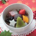船橋屋 【季節限定】クリスマスフルーツあんみつ(お届け期間:12/2〜12/25)【冷蔵品】
