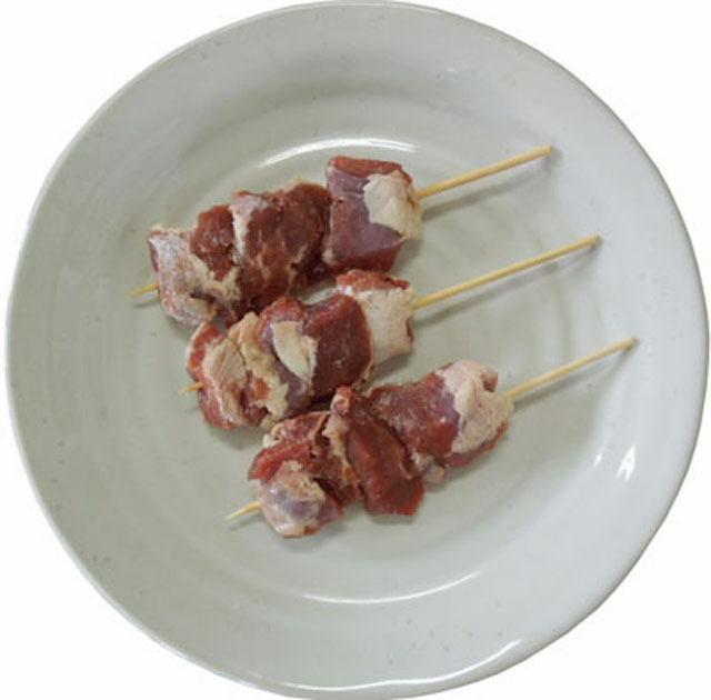 国産 豚 ハラミ 串 刺し 30g 50本入り 生肉 冷凍