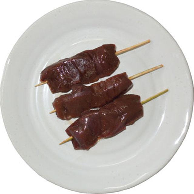 国産 豚 レバー 串 刺し 30g 50本入り 生肉 冷凍