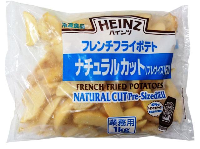 ナチュラルカットポテト (皮付) 1kg入り 冷凍