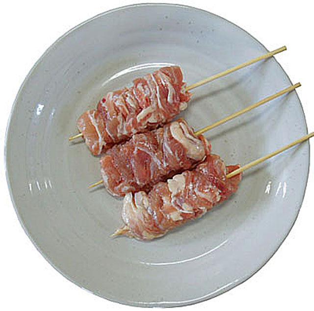国産 首 こにく 串 40g 生肉 50本入り 冷凍