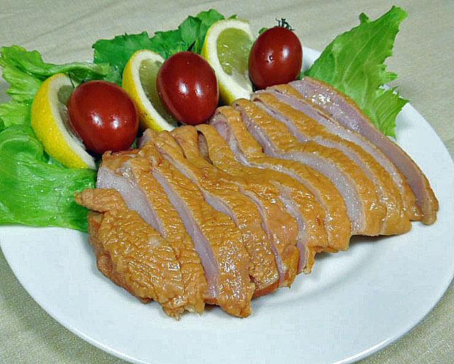 もも 肉 スモーク 1枚入り  約160g 前後 × 5枚 冷東