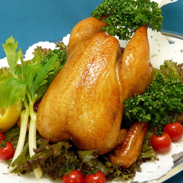 国産 丸鶏 ローストチキン 約1kg 冷凍