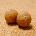 [108個+親玉1個セット]鳳眼菩提樹ビーズ(ナチュラル)14-16mm/M2サイズ