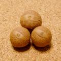 [大玉20個セット]鳳眼菩提樹ビーズ(ナチュラル)16-18mm以上/Lサイズ