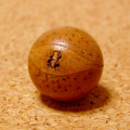 [大108個+親玉1個セット]14.5mm鳳眼菩提樹のビーズ売り(艶消しタイプ)