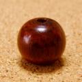 [108個+親玉1個セット]紫檀・シタン15mmミカン玉ビーズ