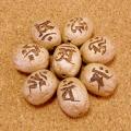 【八梵字】梵字彫刻ビーズ(五眼龍菩提樹)/十二支全対応セット【お得用】