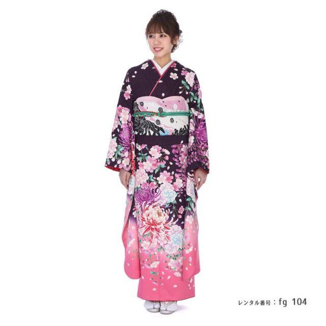 【成人式用】振袖レンタル(fg_104)PF104
