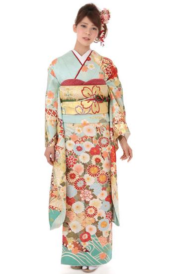 【成人式用】振袖レンタル(fg_277)MI-73 菊花爛漫 古典