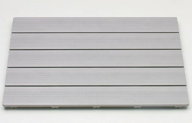 【送料無料 日本製】清潔・長持ち樹脂製すのこ HARD SUNOKO 5080 幅80×奥行50cm グレー