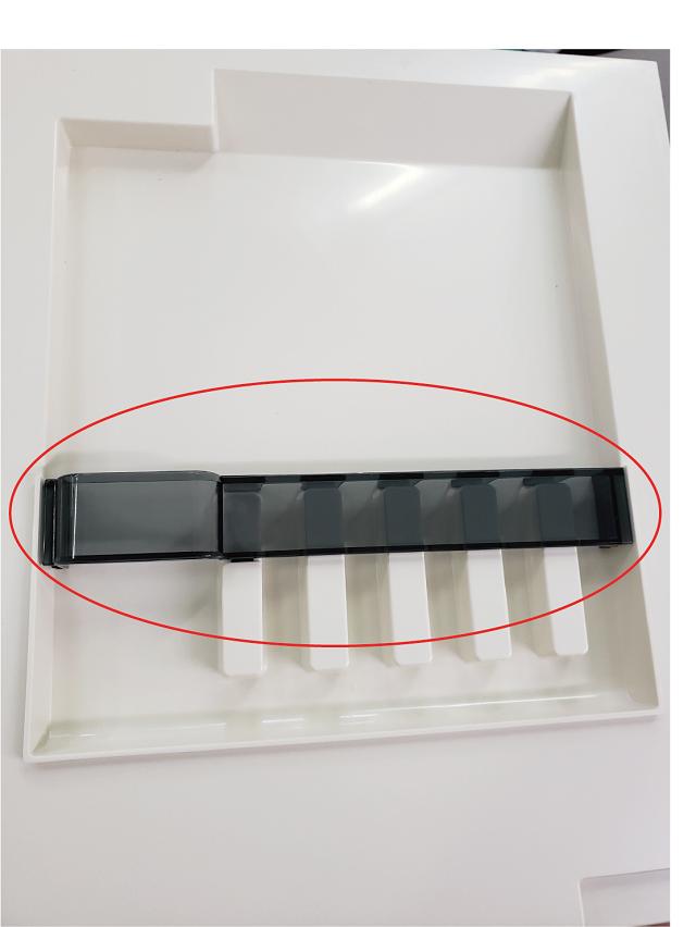 【メール便/DM便】ミラーキャビネット TW-350N用歯ブラシスタンド部品