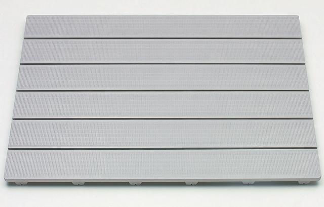 【送料無料 日本製】清潔・長持ち樹脂製すのこ HARD SUNOKO 6085 幅85×奥行60cm グレー