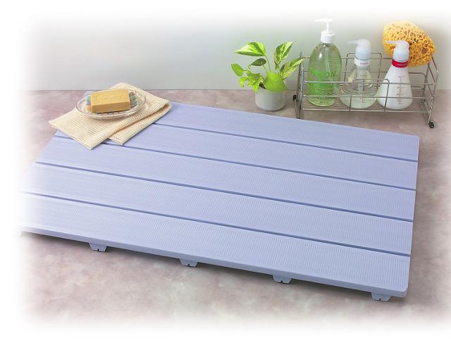 【送料無料 日本製】清潔・長持ち樹脂製すのこ HARD SUNOKO 5080 幅80×奥行50cm ブルー