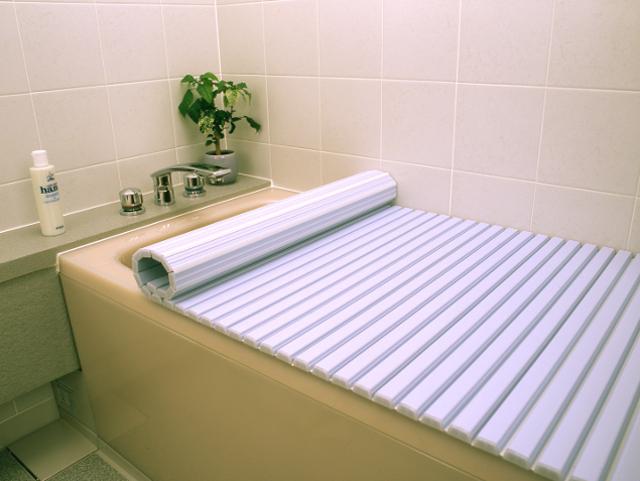 【アウトレット】 シャッター風呂ふた730×1560mmブルー