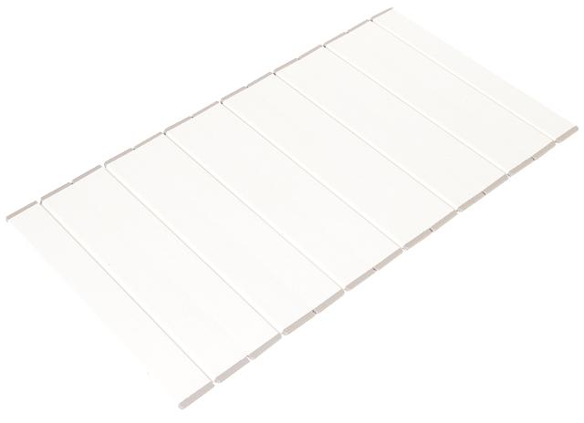 【アウトレット】コンパクト収納!折りたたみふた ラクネス特別サイズ 75×130cm用 アイボリー