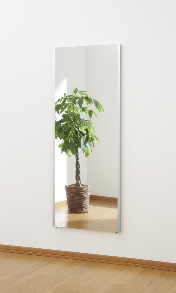超軽量!くっきり自然な映り!割れない鏡 リフェクスミラー(refex)高さ150×60cm