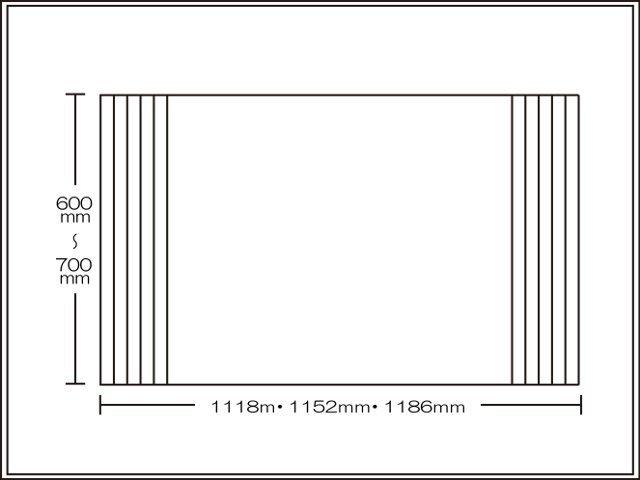 【送料無料】くるくる巻ける巻きふた オーダーシャッターふた600~700×1118・1152・1186mm