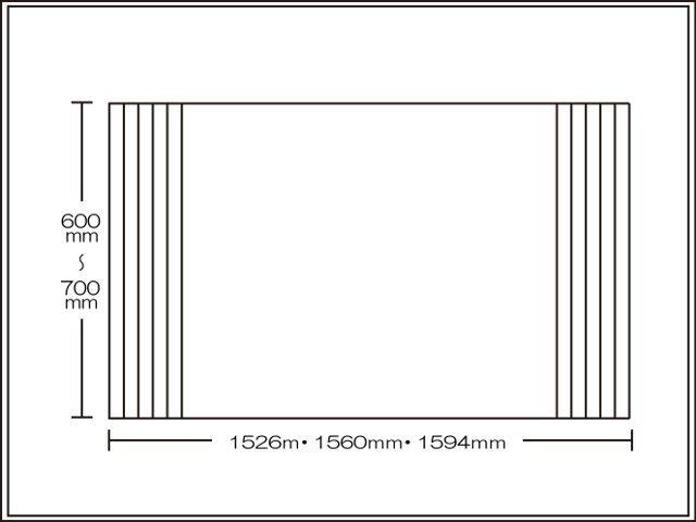 【送料無料】くるくる巻ける巻きふた オーダーシャッターふた600~700×1526・1560・1594mm