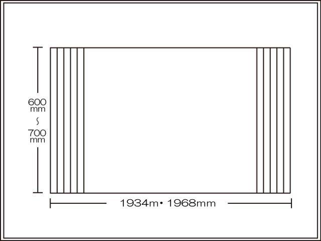 【送料無料】くるくる巻ける巻きふた オーダーシャッターふた600~700×1934・1968mm